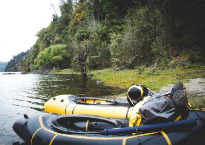 Disfruta del packraft en futrono y del alojamiento con turismo pewma